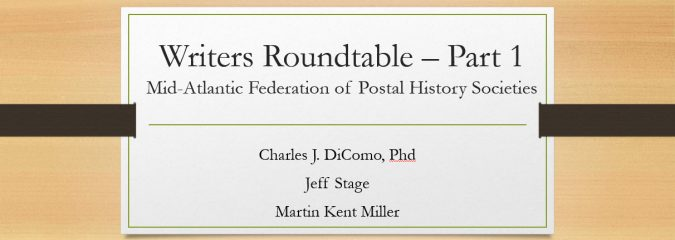 Writers Roundtable – Part 1